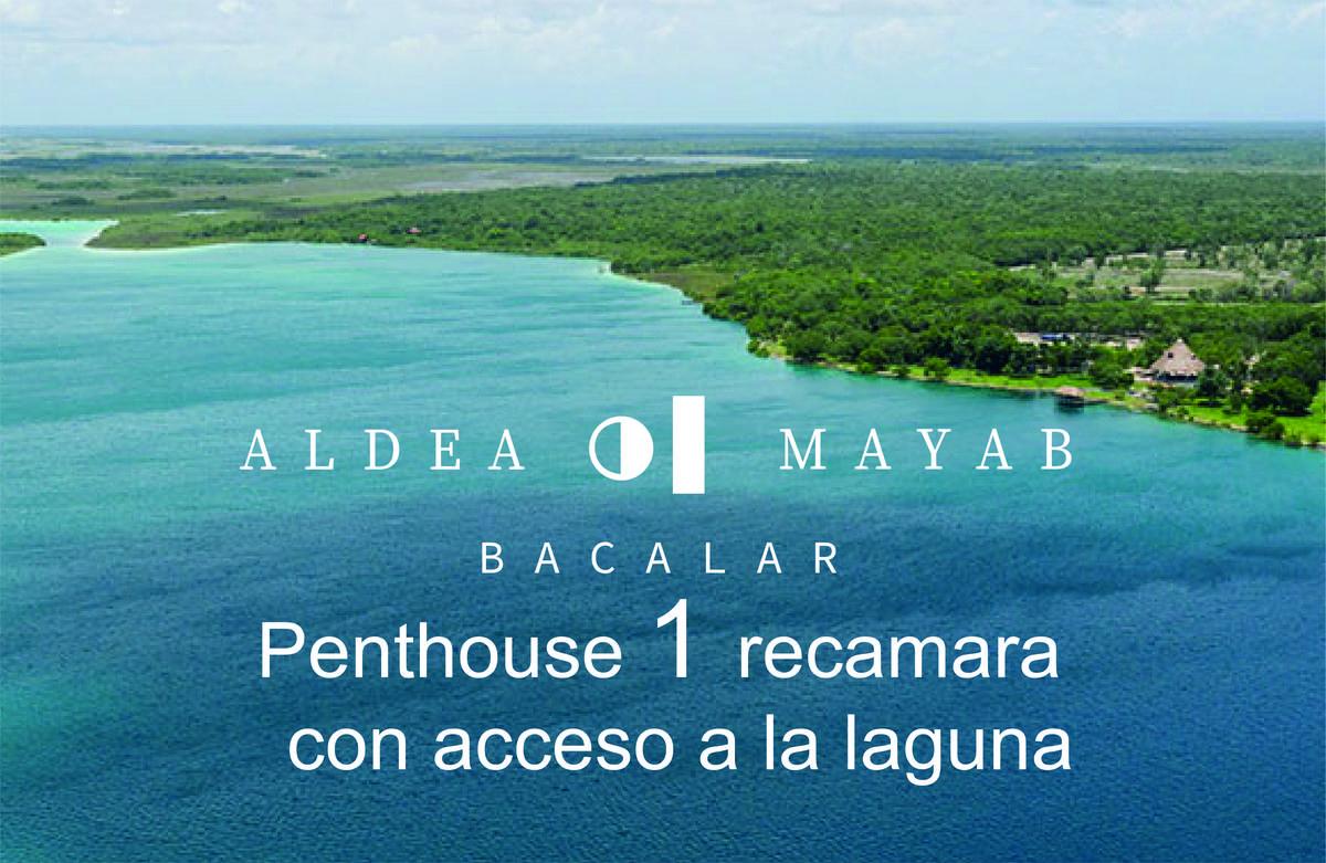 Foto Departamento en Venta en  Bacalar ,  Quintana Roo  Penthouse  en venta 1 recamara en Laguna de Bacalar