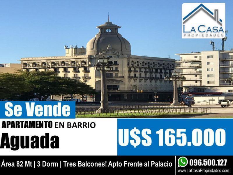 Foto Apartamento en Venta en  Aguada ,  Montevideo  AGRACIADA 2300