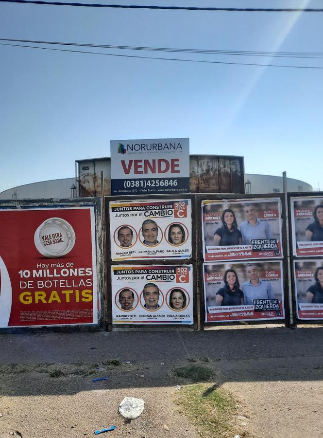 Foto Terreno en Venta en  Capital ,  Tucumán  Av. Roca al 3100