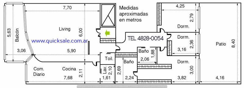 Foto Departamento en Venta   Alquiler en  Caballito ,  Capital Federal  Pedro Goyena al 700