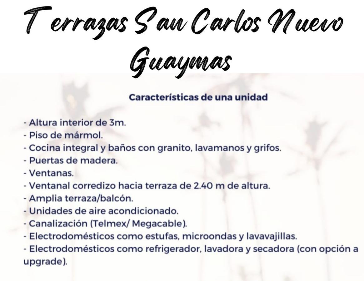 """Foto Departamento en Venta en  El Mirador,  Guaymas  VENTA DE CONDOMINIOS """"TERRAZAS""""  MODELO CRETA EN SAN CARLOS NUEVO GUAYMAS"""