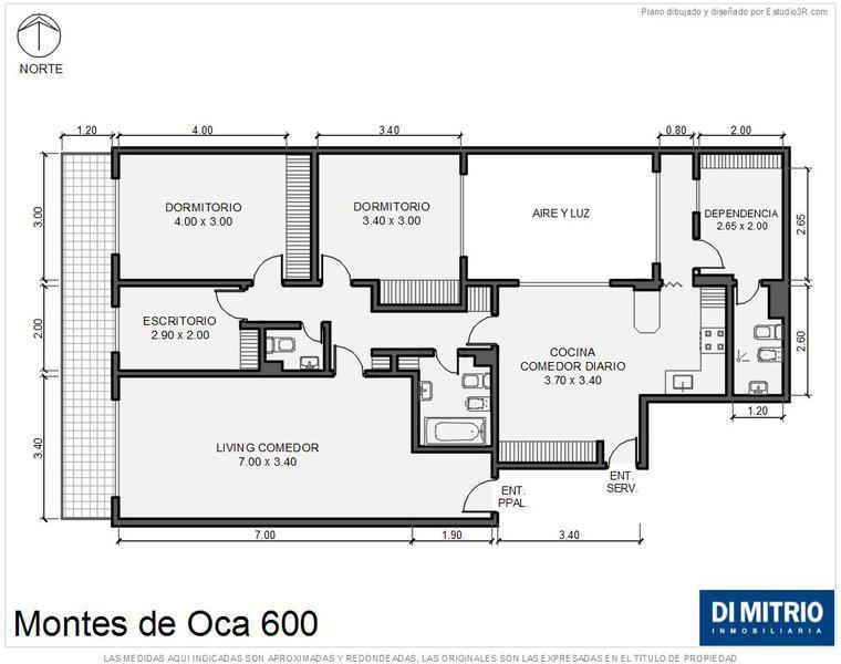 Foto Departamento en Venta en  Barracas ,  Capital Federal  Av. Montes de Oca y Aristobulo del Valle