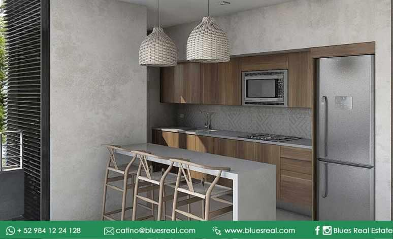 Picture Apartment in Sale in  Tulum ,  Quintana Roo  New condos at Mak Tulum | Blues Real | Code 920