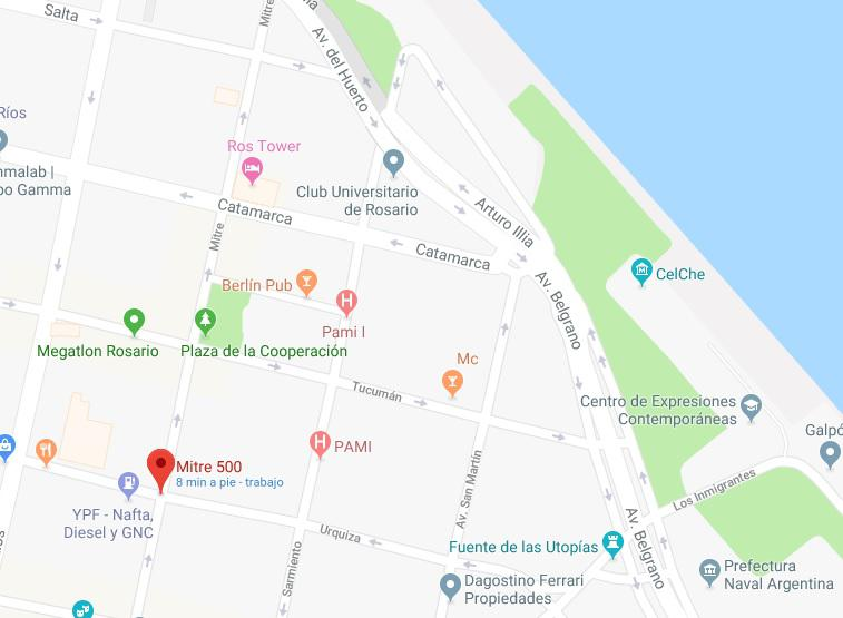 Foto Departamento en Venta en  Centro,  Rosario  Mitre al 500