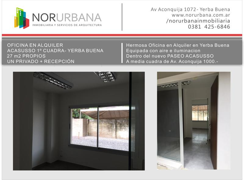 Foto Oficina en Alquiler en  Yerba Buena ,  Tucumán  Paseo Acassuso