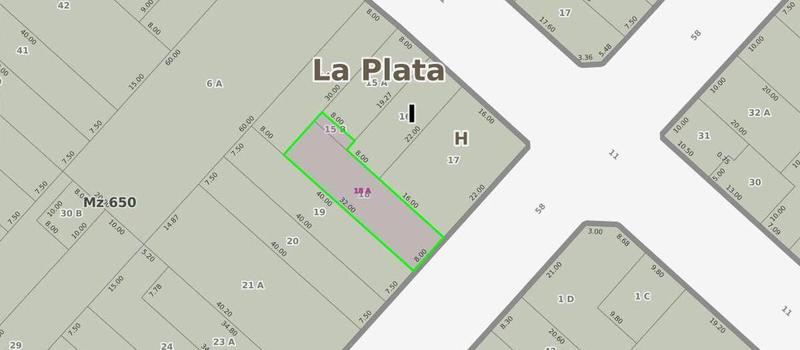 Foto Terreno en Venta en  La Plata,  La Plata  58 E/ 11 y 12