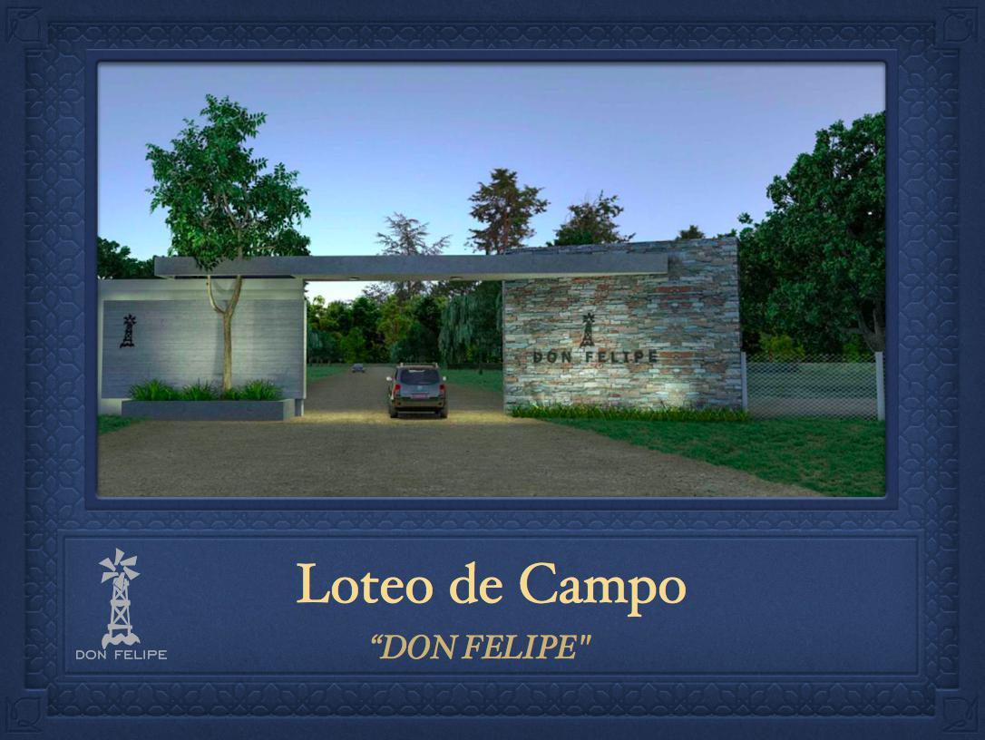 Foto Terreno en Venta en  Lobos Country Club,  Lobos  RUTA 41 KM al 100