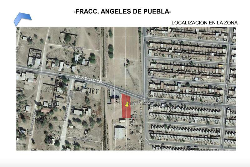 Foto Terreno en Venta en  Angeles de Puebla,  Mexicali  Angeles de Puebla