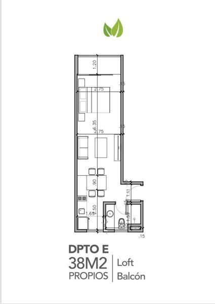 Foto Departamento en Venta en  Villa Morra,  La Recoleta  Edificio Life Villa Morra, Departamento 3E