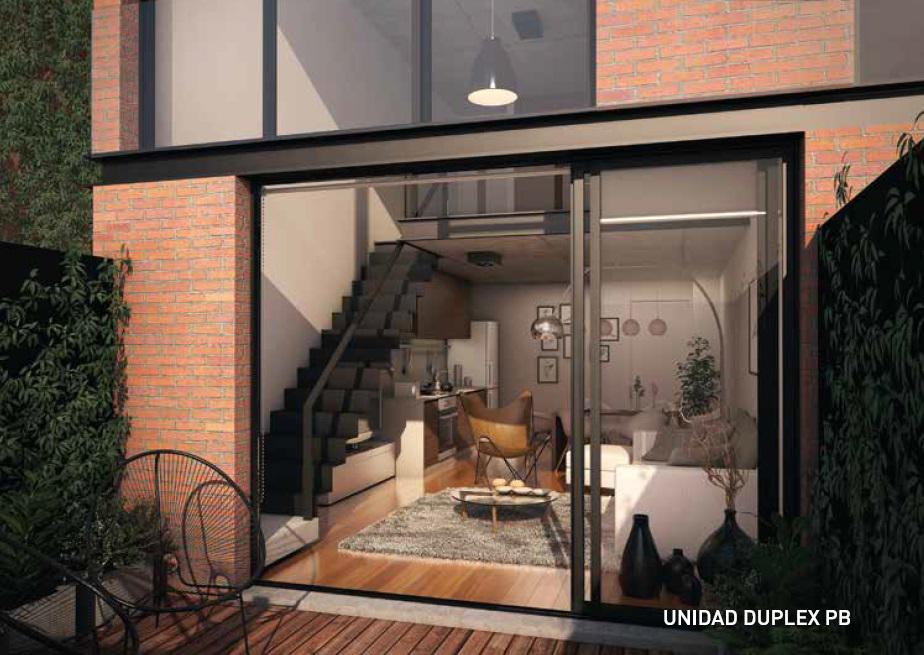 Foto Apartamento en Venta en  Punta Carretas ,  Montevideo  Loft duplex. Patio y parrillero