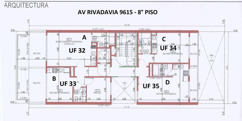 Foto Departamento en Venta en  Villa Luro ,  Capital Federal  Av. Rivadavia 9615 8º C