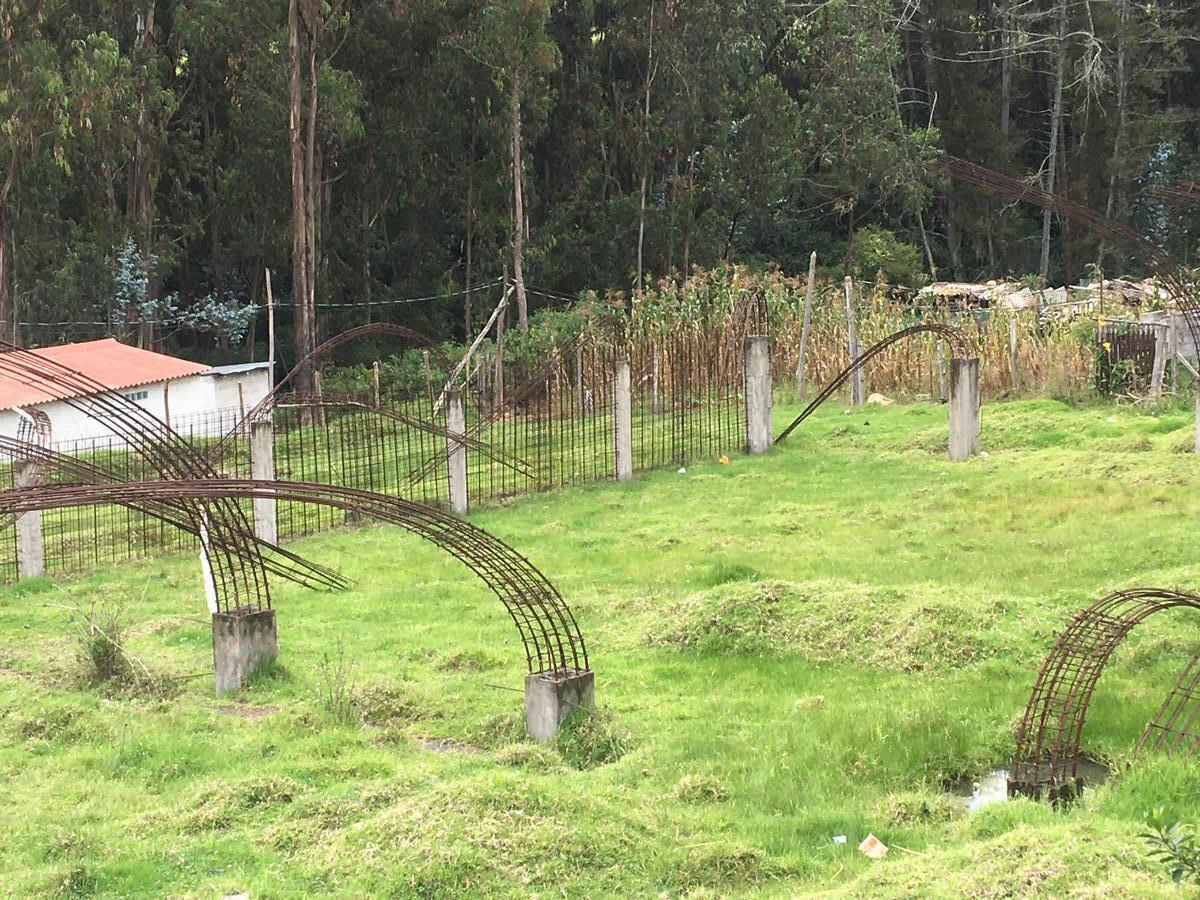 Foto Terreno en Venta en  Los Chillos,  Quito  Terreno de Venta  con estructuras para Galpones - La Floresta - Alangasí