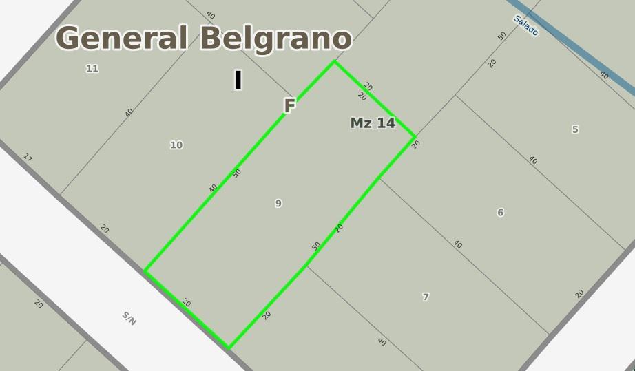 Foto Terreno en Venta en  Balneario Viejo,  General Belgrano  Calle 624 entre 603 y 605