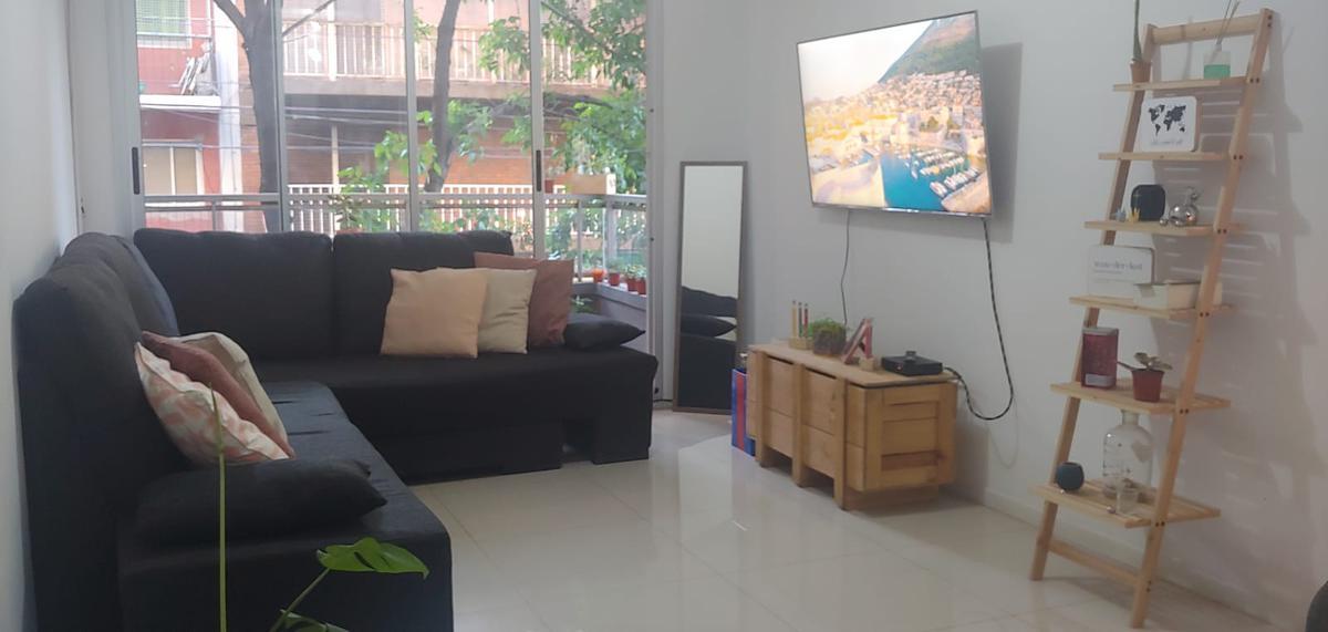 Foto Departamento en Alquiler en  Nuñez ,  Capital Federal  Muy lindo 2 ambientes en 1er. Piso con Patio, detalles de calidad con Laundry , Amenabar 3300. Nunez