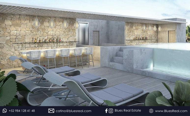 Picture Apartment in Sale in  Tulum ,  Quintana Roo  New condos at Mak Tulum   Blues Real   Code 920