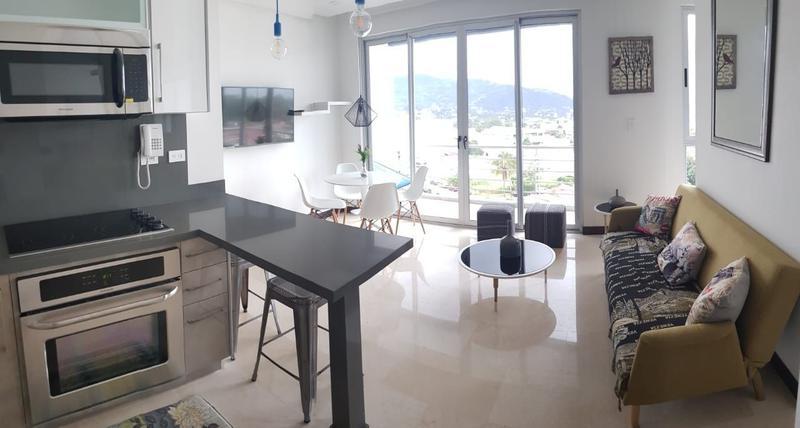Foto Departamento en Venta en  Mata Redonda,  San José  Apartamento en Nunciatura amueblado en 6to piso