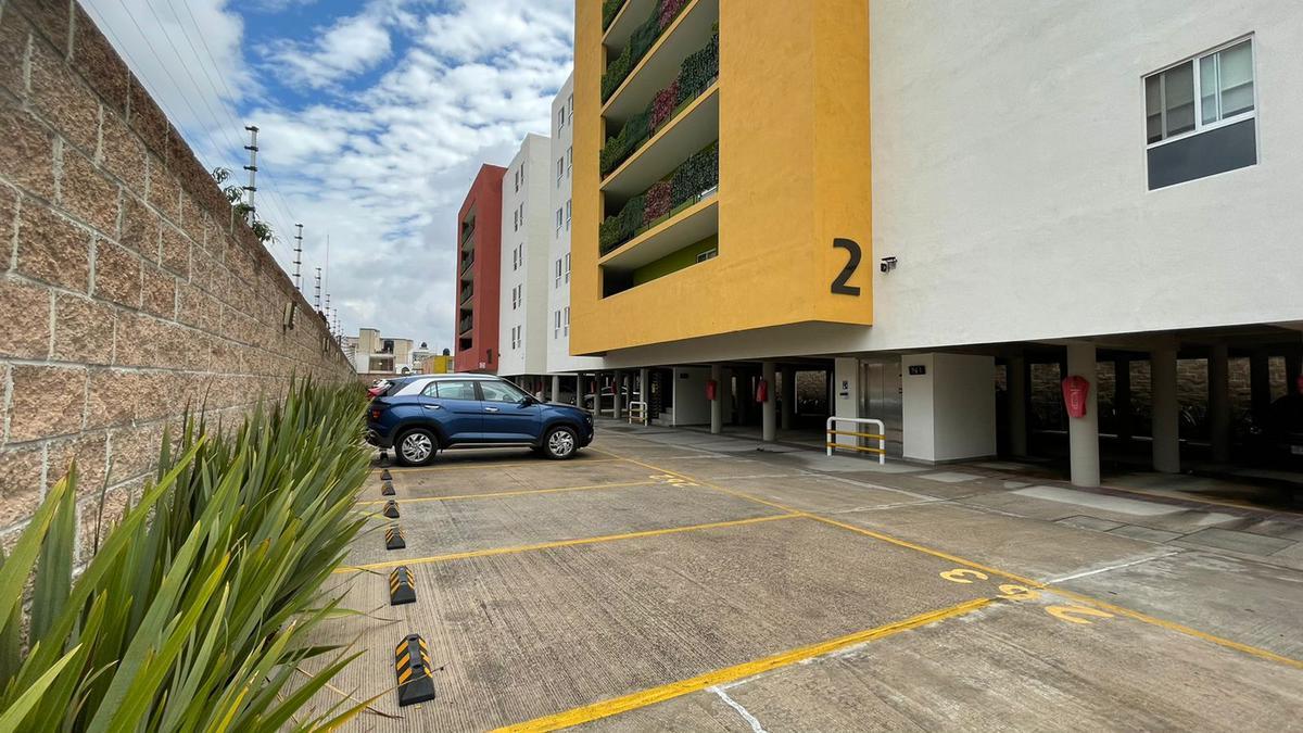 Foto Departamento en Renta en  Garita de Jalisco,  San Luis Potosí  Nuevo con Amenidades Gym, Ludoteca & Juegos Infantiles y Salón de Eventos (UsosMúltiples)