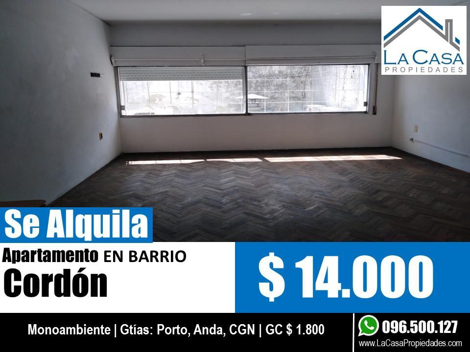 Foto Apartamento en Alquiler en  Cordón ,  Montevideo  Mercedes 1800