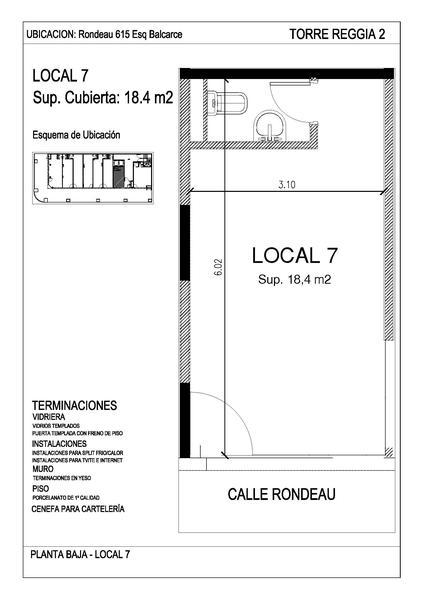 Foto Local en Alquiler en  Nueva Cordoba,  Capital  Rondeau esq Balcarce| Reggia 2