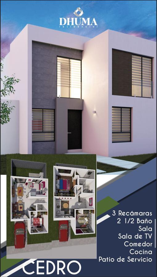 Foto Casa en Venta en  La Virgen,  Soledad de Graciano Sánchez  DHUMA Residencial, Cedro