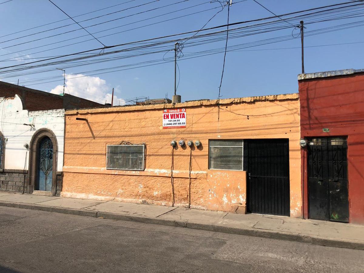 Foto Terreno en Venta en  Santiago del Río,  San Luis Potosí  CASA EN  VENTA COMO TERRENO ZONA CENTRO