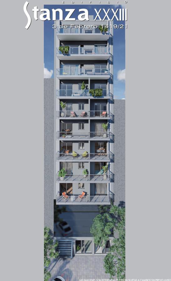 Venta Departamento piso exclusivo 3 dormitorios parrillero escritorio - Moderno