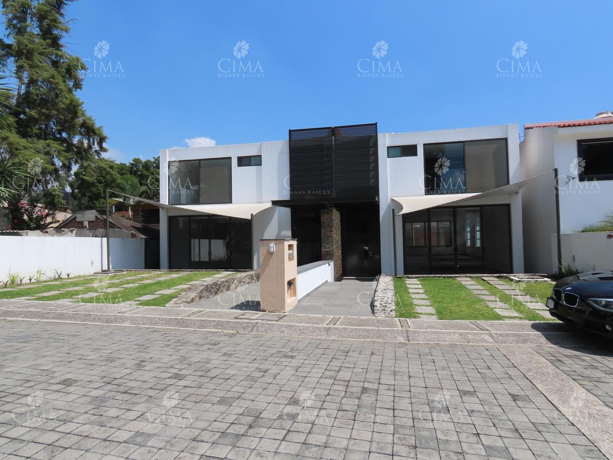 Foto Casa en Venta en  Pueblo Ahuatepec,  Cuernavaca  Venta Moderna Casa a Estrenar con Seguridad en Ahuatepec - V203