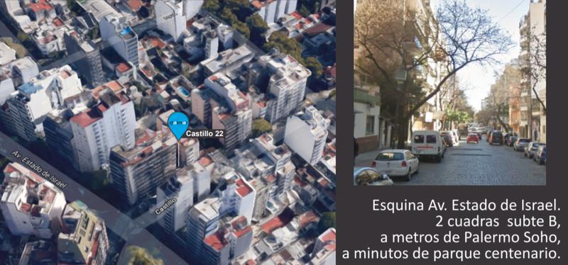 Foto Departamento en Venta en  Villa Crespo ,  Capital Federal  Castillo 20
