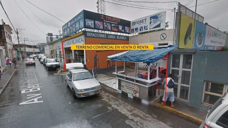 Foto Terreno en Venta en  Centro,  Tuxpan  TERRENO COMERCIAL EN VENTA O RENTA