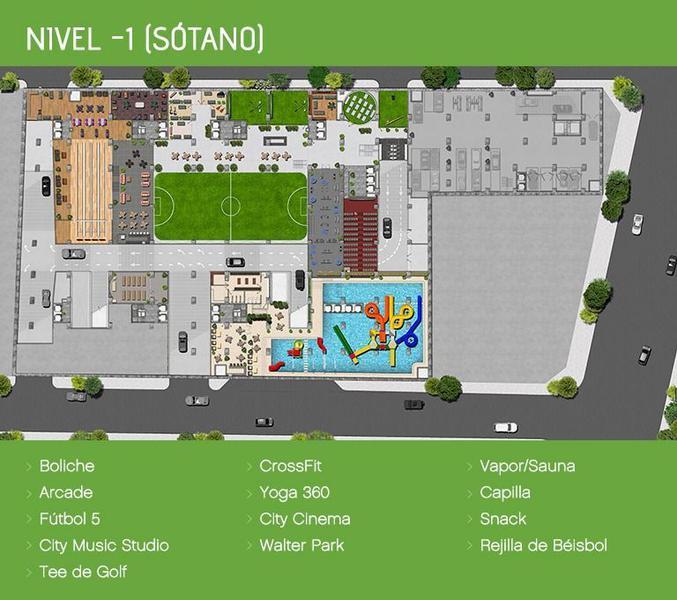 Foto Departamento en Venta en  Santa Cruz Atoyac,  Benito Juárez  Venta Departamento City Towers Green, Coyoacan, Ciudad de México