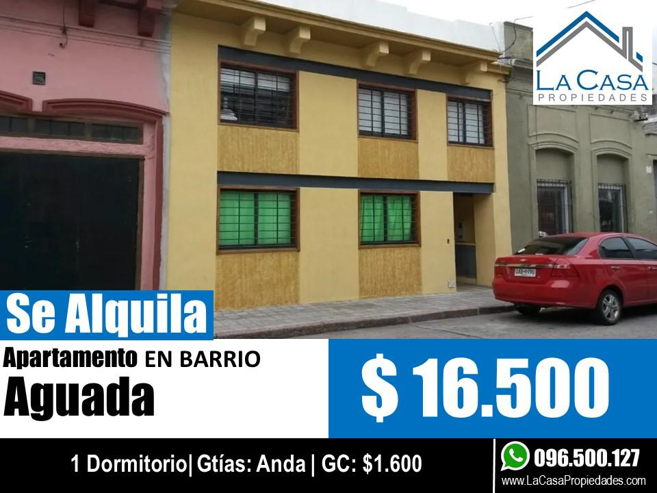 Foto Apartamento en Alquiler en  Aguada ,  Montevideo  Bacigalupi al 2000
