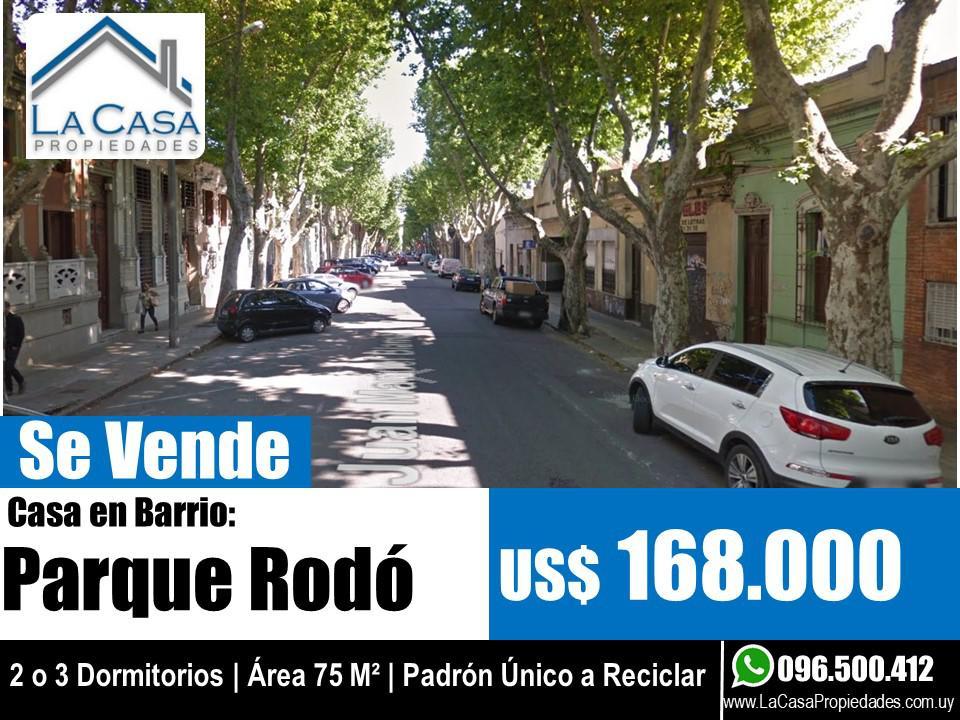 Foto Casa en Venta en  Parque Rodó ,  Montevideo  Juan Manuel Blanes al 1200