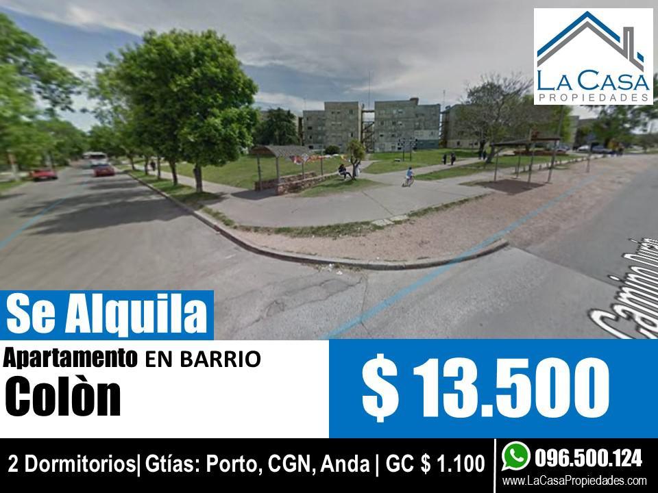 Foto Apartamento en Alquiler en  Colón ,  Montevideo  Duran  al 2100