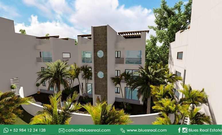 Picture Apartment in Sale in  Tulum ,  Quintana Roo  For sale apartments in Condos 8 Tulum | Code 472