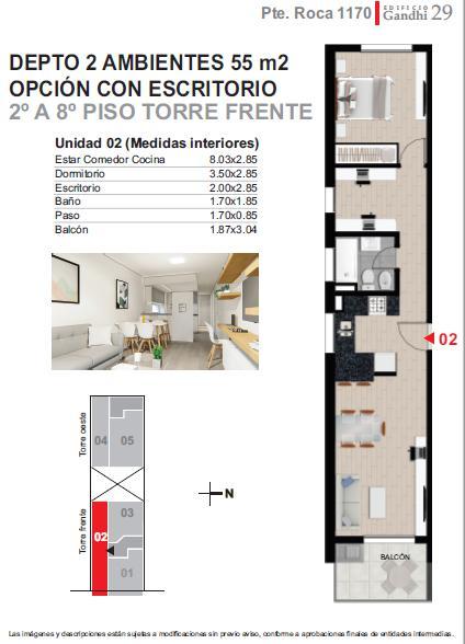 Foto Departamento en Venta |  en  Centro,  Rosario  Roca al 1100