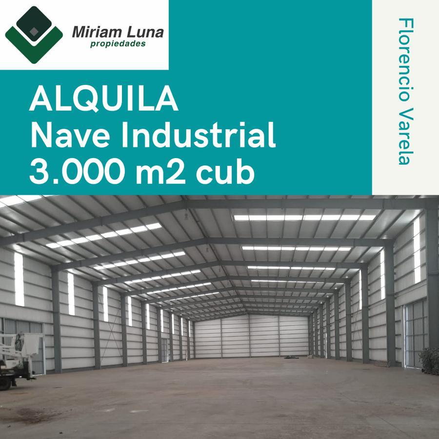 Foto Nave Industrial en Alquiler en  Florencio Varela ,  G.B.A. Zona Sur  FLORENCIO VARELA