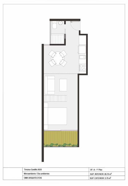 Foto Departamento en Venta en  Mataderos ,  Capital Federal  Edificio premium en Mataderos  Loft Divisible con balcón aterrazado