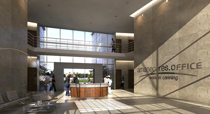 Foto Oficina en Alquiler en  Amaneceres Office (Comerciales),  Canning  Oficina con DOS COCHERAS - Amaneceres Office