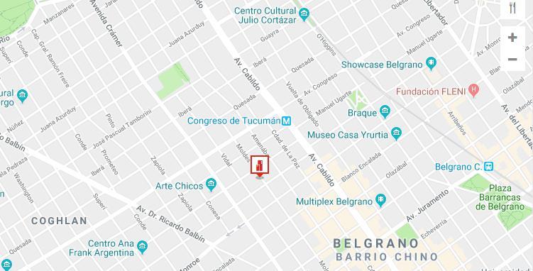 Foto Departamento en Venta en  Belgrano ,  Capital Federal  Moldes 2600 Belgrano  (con renta )/2ambientes