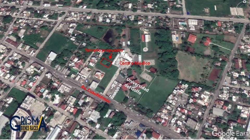 Foto Terreno en Venta |  en  Enrique Rodríguez Cano,  Tuxpan  Calle sin nombre