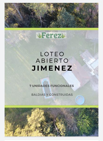 Foto Terreno en Venta en  Del Viso,  Pilar  Jimenez y Gervasio Artigas