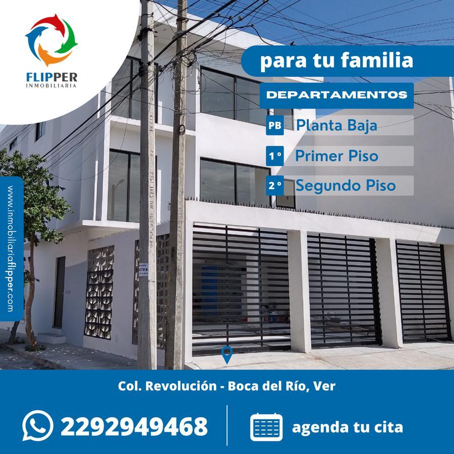 Foto Departamento en Venta en  Revolución,  Boca del Río  A 7 minutos de WaltMart Boca del Río / Segundo Piso