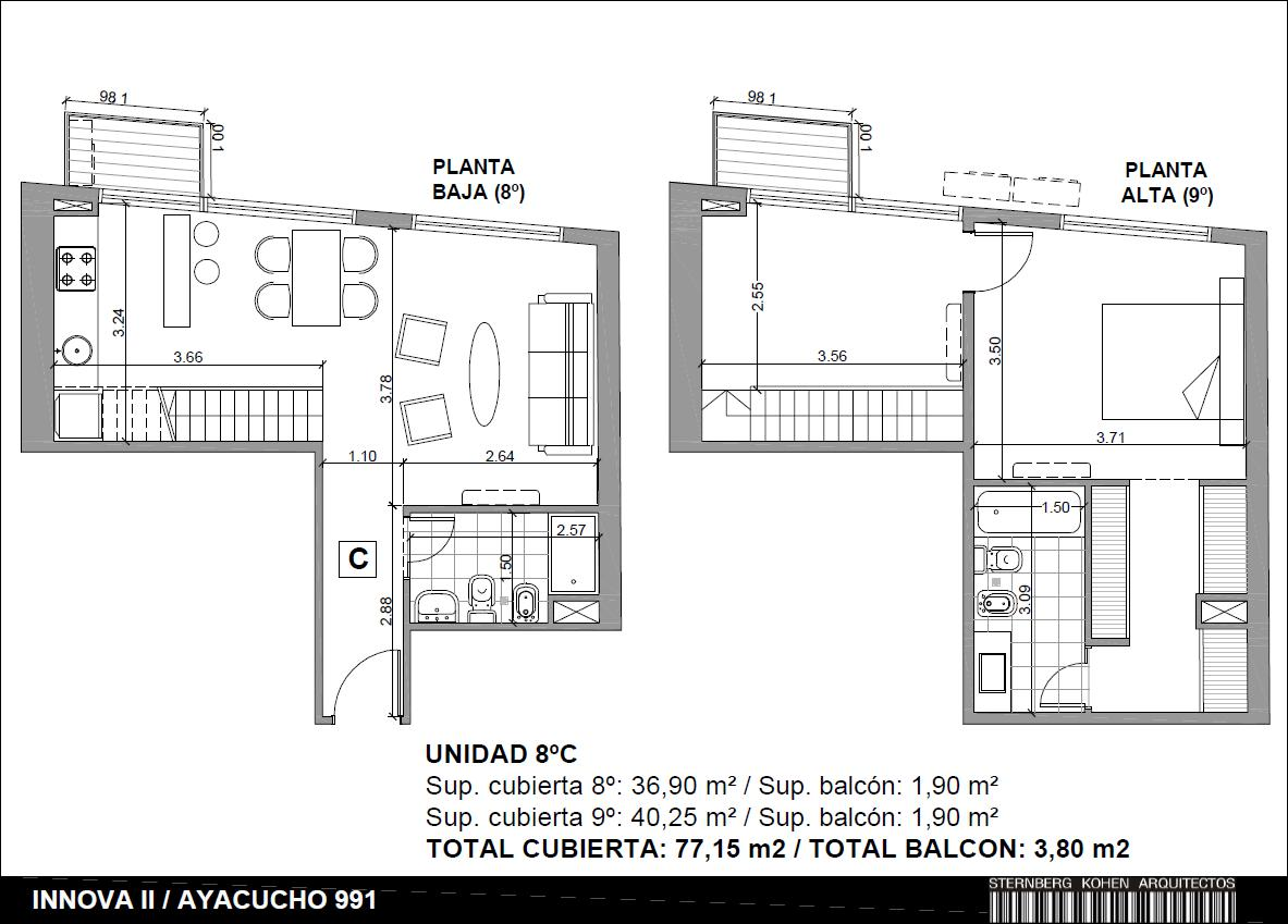 Foto Departamento en Venta en  Barrio Norte ,  Capital Federal  AYACUCHO Y M.T.ALVEAR
