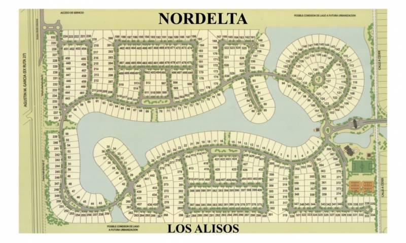 Foto Terreno en Venta en  Nordelta,  Countries/B.Cerrado  LOTE Los Alisos. Nordelta