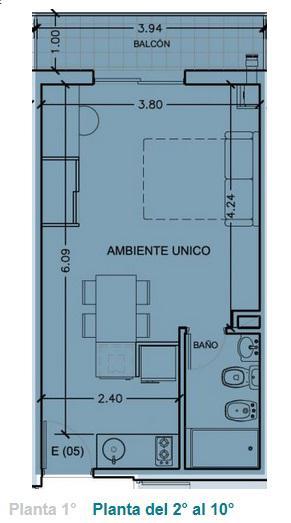 Foto Departamento en Venta en  Abasto,  Rosario  BUENOS AIRES 1900
