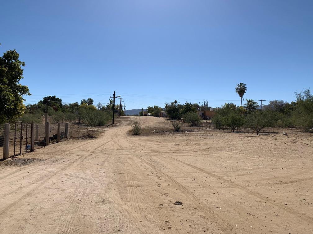 Foto Terreno en Venta en  La Paz ,  Baja California Sur  TERRENO LOS PLANES - CALLE SIN NOMBRE - CONOCIDO