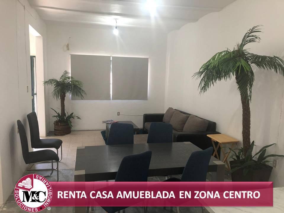 Foto Casa en Renta en  Zona Centro,  Aguascalientes  CASA EN RENTA AMUEBLADA EN ZONA CENTRO DE AGUASCALIENTES