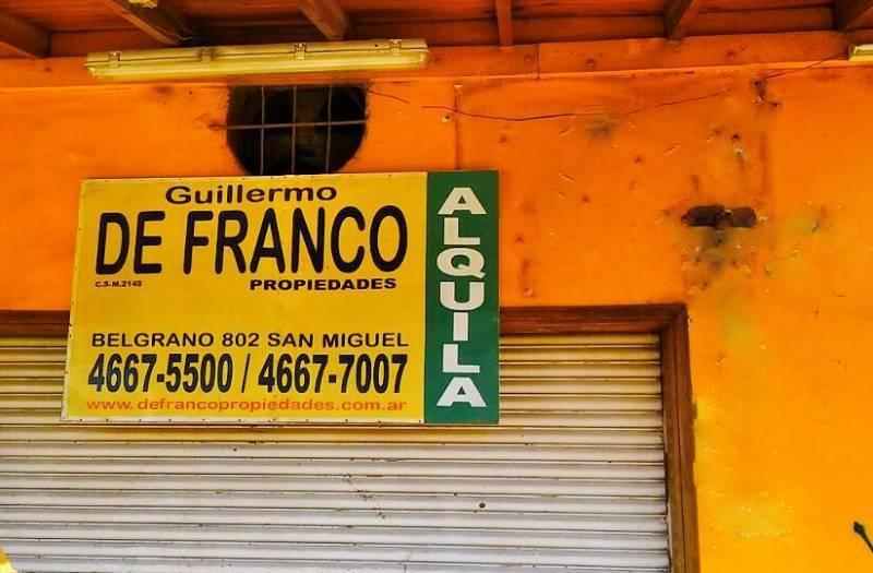 Foto Local en Alquiler en  Los Polvorines,  Malvinas Argentinas  Avenida del Sesquicentenario al 600