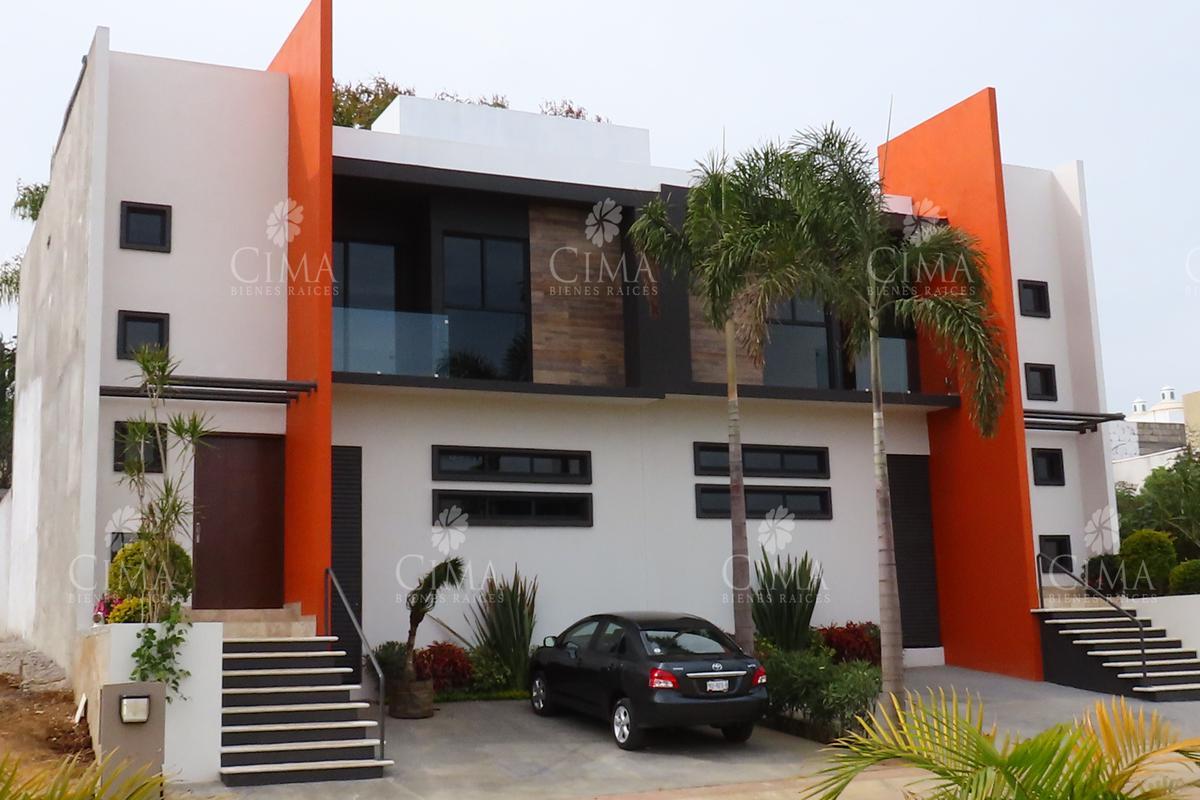 Foto Casa en condominio en Venta en  Jardines de Ahuatlán,  Cuernavaca  VENTA CASA NUEVA CON VIGILANCIA, MODERNA Y ACABADOS DE LUJO - V163