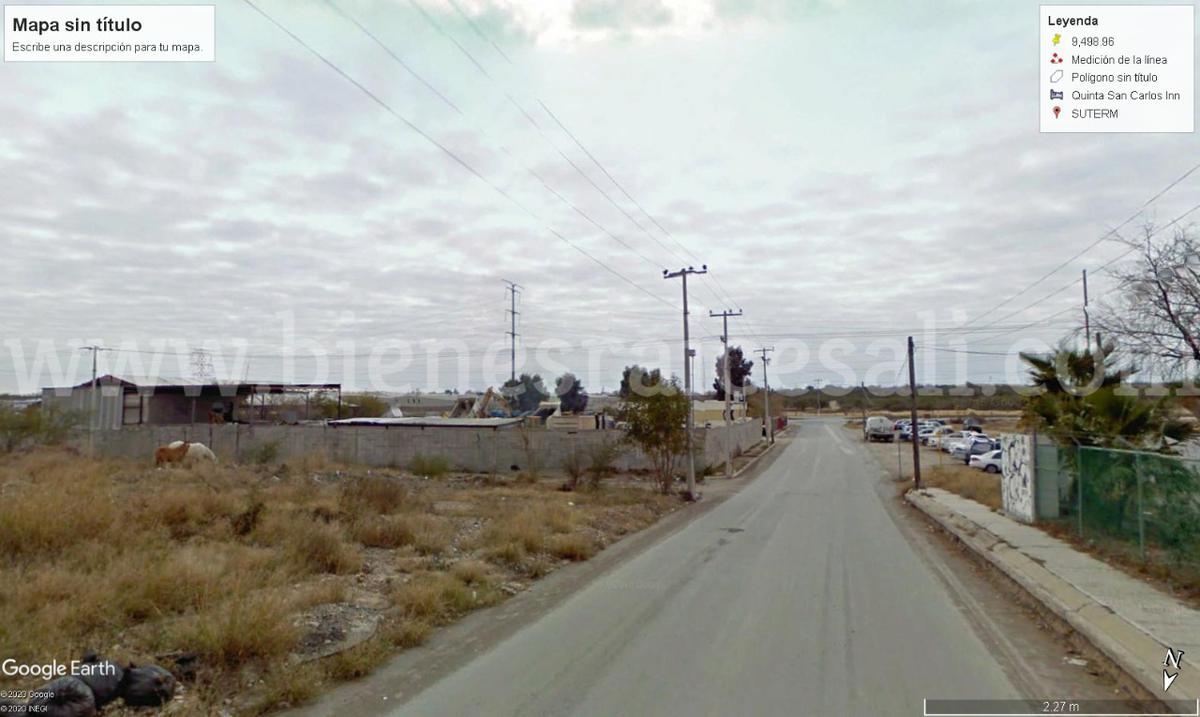 Foto Terreno en Venta en  SUTERM,  Piedras Negras  Blvd. Manuel Perez Treviño